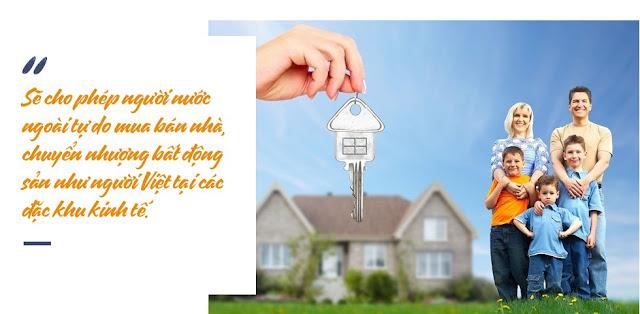 Cho phép người nước ngoài mua nhà ở Việt Nam