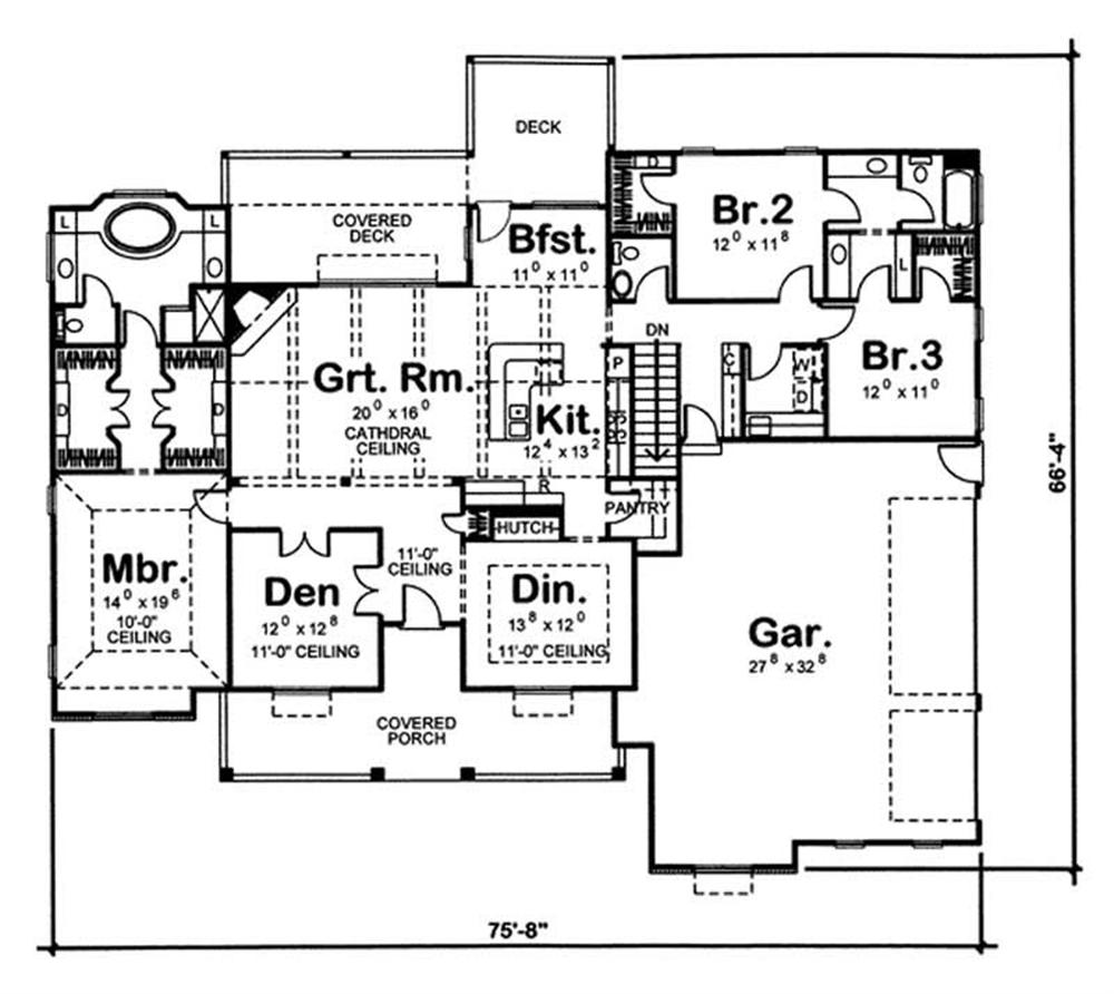 Our new home the house plan - Jack and jill bathroom plans ...