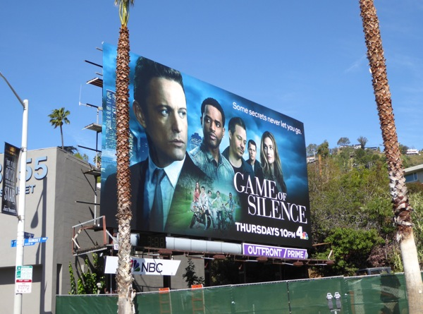 Game of Silence series launch billboard