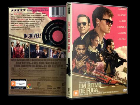 Capa DVD Em Ritmo de Fuga