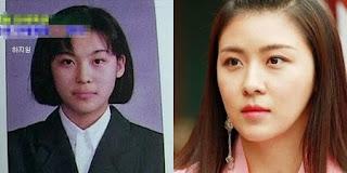 foto pre debut masa kecil ha ji won
