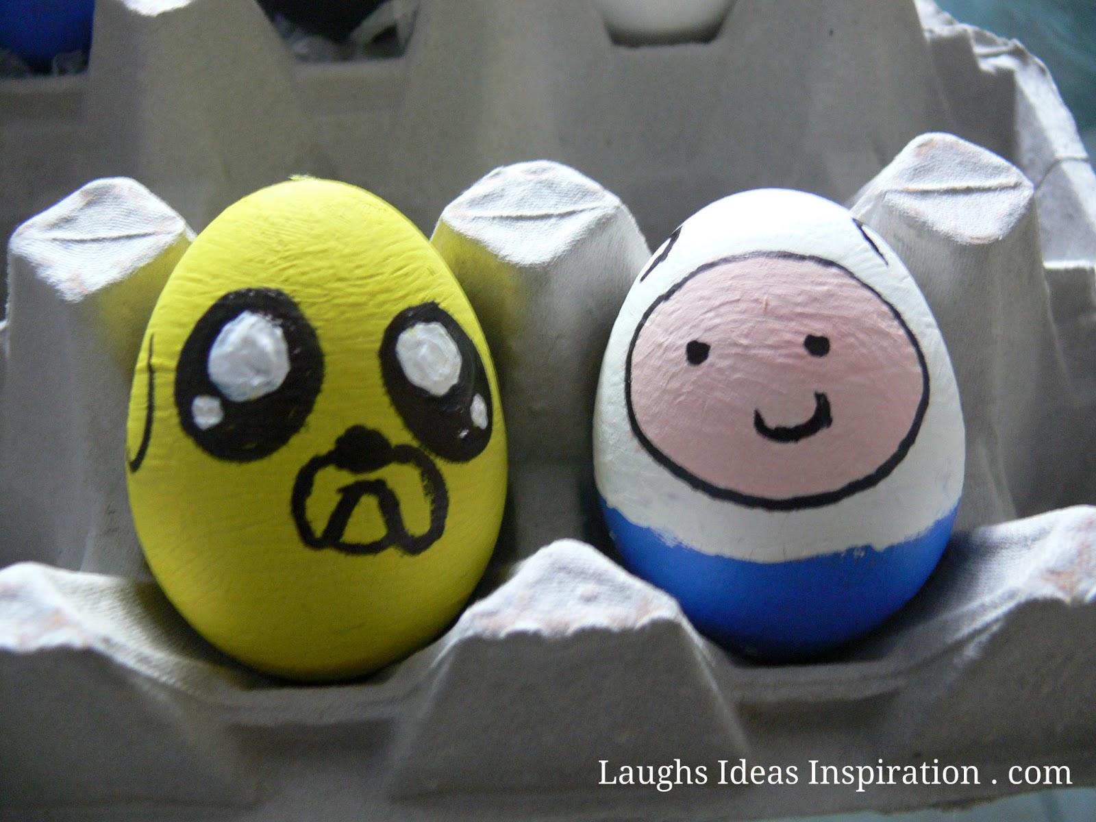 Huevos de Pascua Finn y Jake