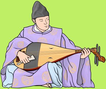 楽器事典:楽琵琶 がくびわ