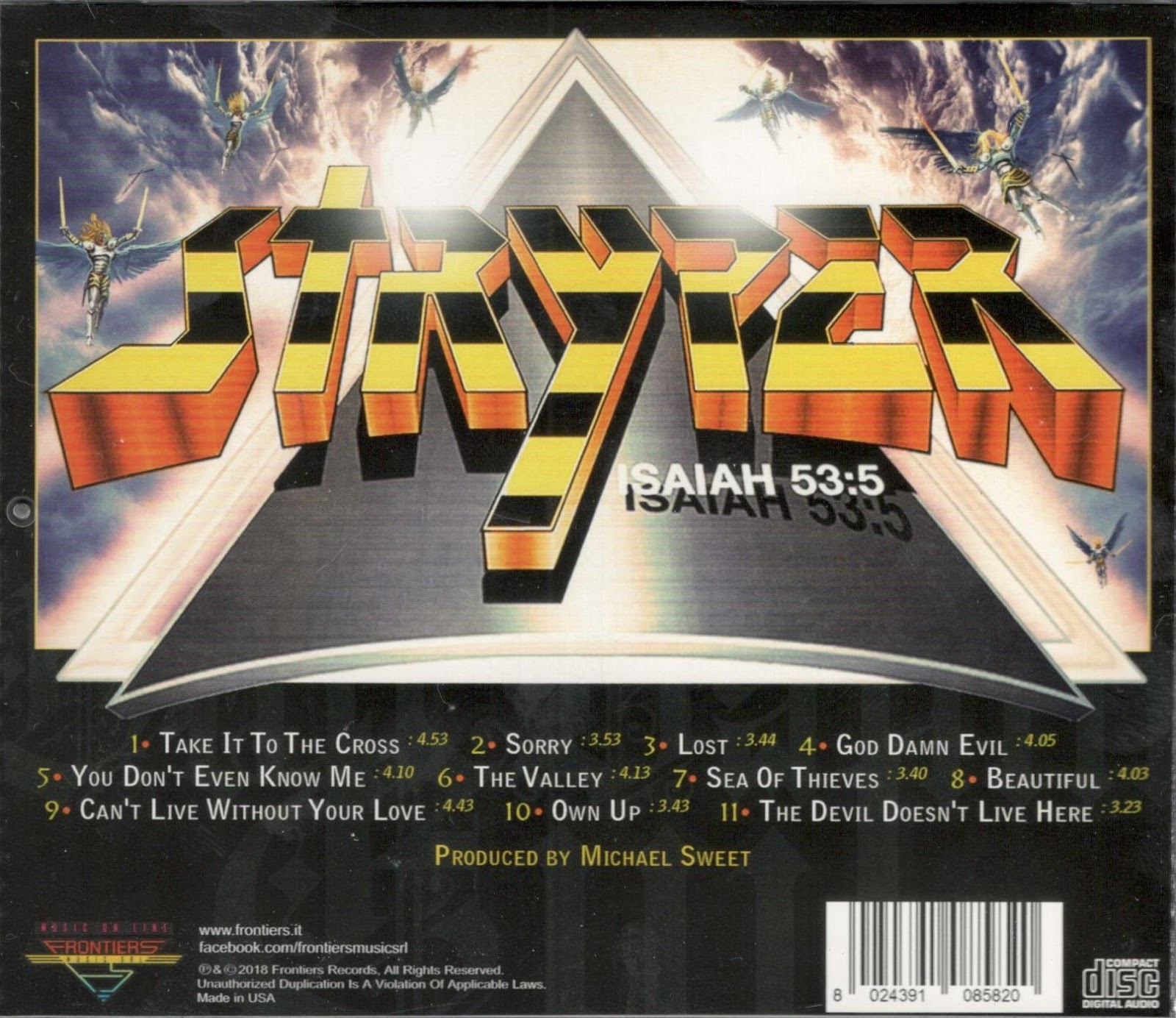 """Is There Anything The Devil Can T Rock Lucifer: Rugged Music: Stryper """"God Damn Evil"""""""