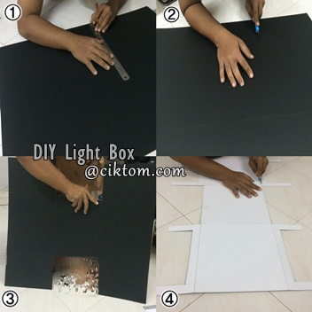 Cara Mudah DIY Light Box aka Mini Studio