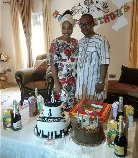 Tope Alabi Treats Her Husband To A Surprise Birthday Party