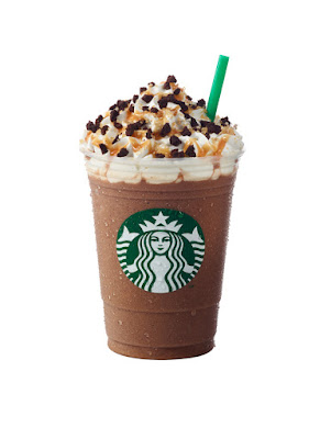 Salted Caramel Mocha Crumble Frappuccino