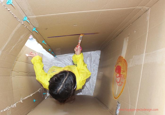 reciclaje con makedo: cohete
