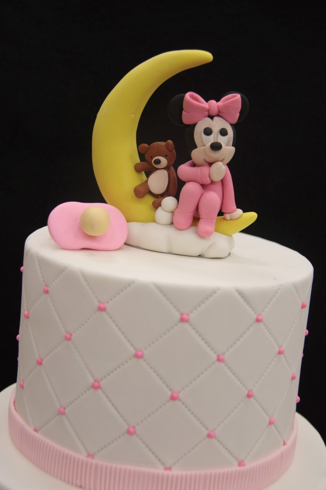 Penang Wedding Cakes By Leesin Baby Minnie Baby Cake
