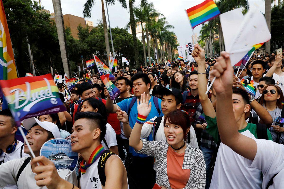 Parada do Orgulho consolida Taiwan como referência na luta por direitos LGBT