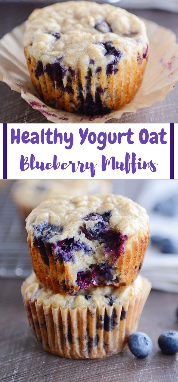 HEALTHY YOGURT OAT BLUEBERRY #cake #cupcakes