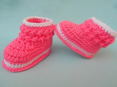 Crochet Booties Pattern