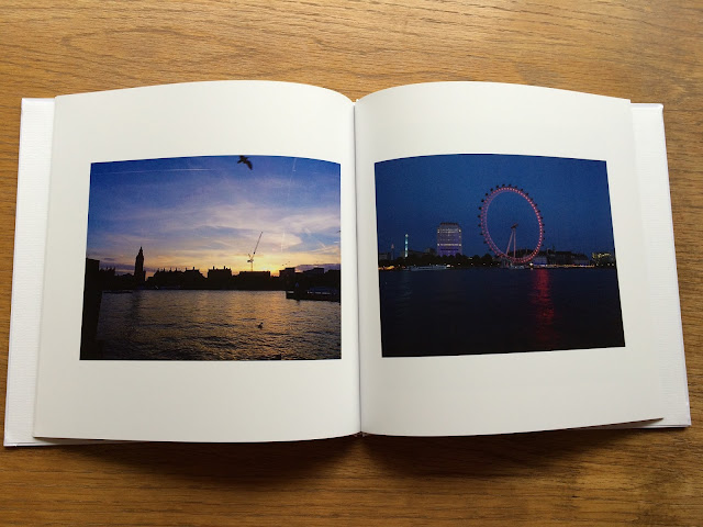 photos from london printed into a photo book using Lalalab