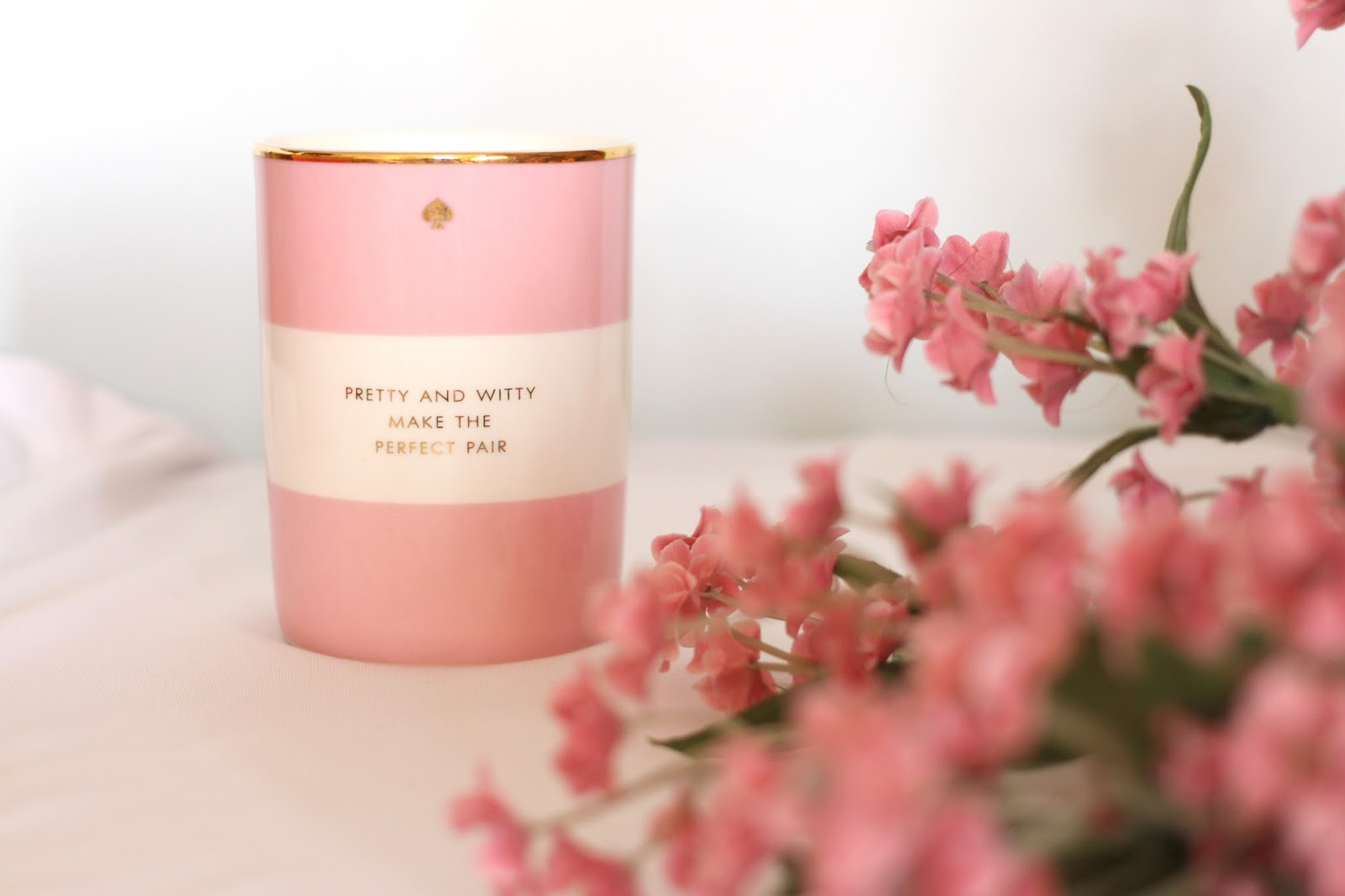 Kate Spade Pretty and Witty Candle