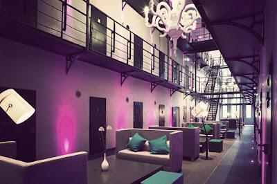 Penjara Het Arresthuis, sekarang menjadi sebuah hotel