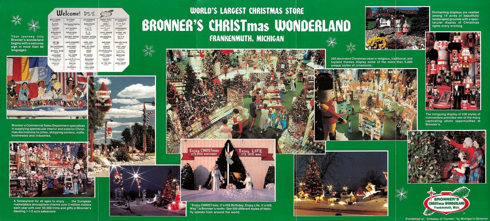 Bronners Christmas.Quasi Interesting Paraphernalia Inc Bronner S Christmas