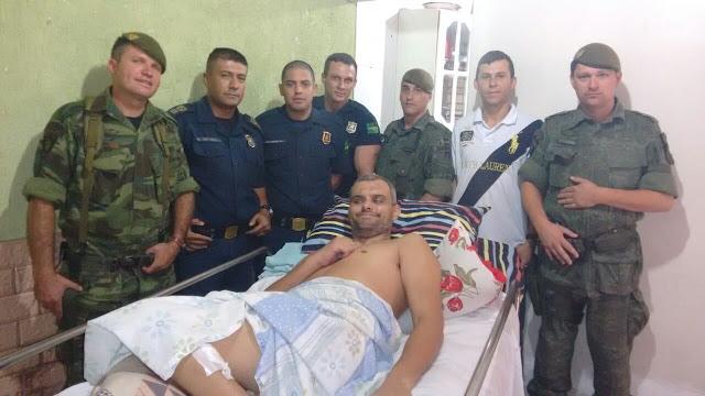 Policial da Guarda Civil Metropolitana que ficou paraplégico durante uma reação a um assalto precisa de sua ajuda