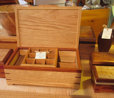 beautiful handmade jewelry box, wood