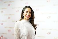 Pragya Jaiswal in lovely Black Mini Skirt and White Transparent Shirt ~  Exclusive 009.JPG