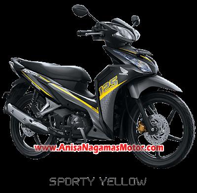 Blade R - Sporty Yellow 2018 Anisa Naga Mas Motor Klaten Dealer Asli Resmi Astra Honda Motor Klaten Boyolali Solo Jogja Wonogiri Sragen Karanganyar Magelang Jawa Tengah.