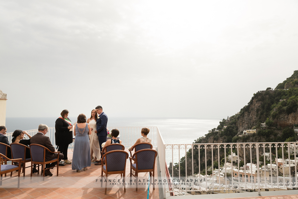 Positano town hall civil wedding