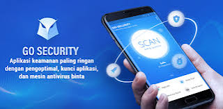 Aplikasi antivirus android terbaik GO Security