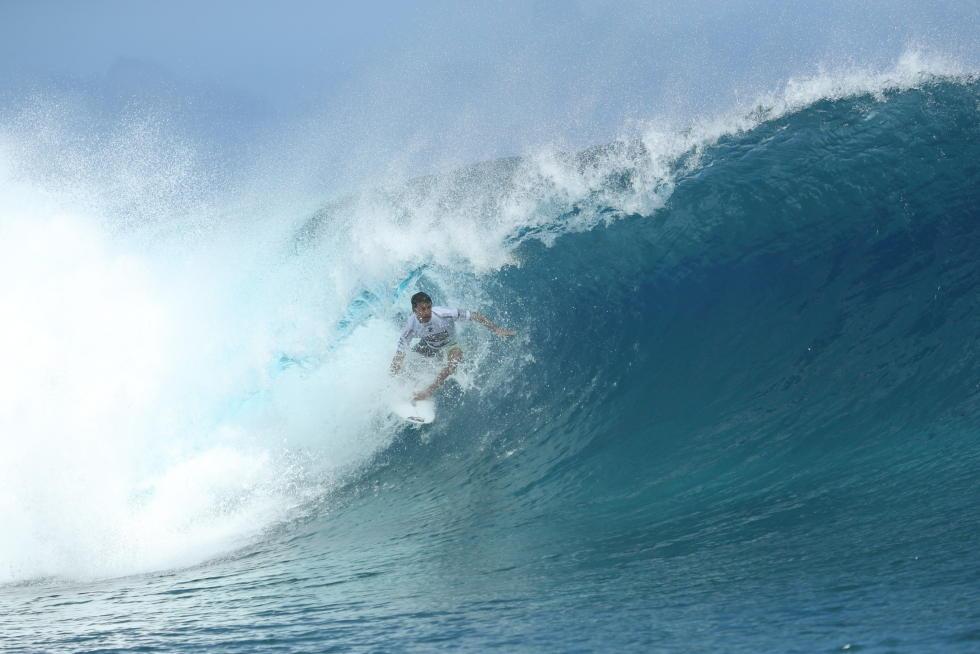 4 Jeremy Flores Billabong Pro Tahiti foto WSL Kelly Cestari