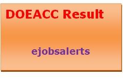 DOEACC Result 2017