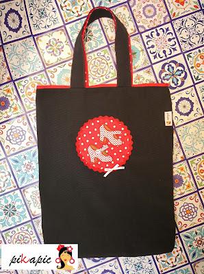 Bolso clases baile flamenco tacones. Pikapic