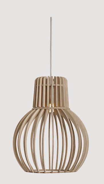 Wood & Bamboo Pendant Lights 14