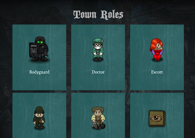 Screengrab of official Town of Salem roles page