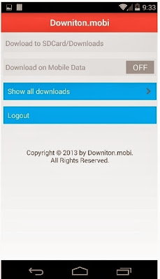 Show all downloads