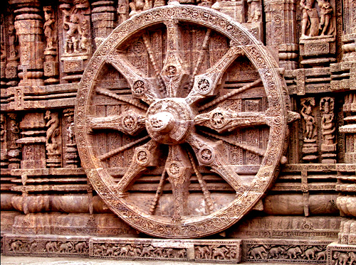 Konark Wheel at Sun Temple