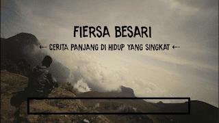 Lirik Lagu Cerita Panjang Di Hidup Yang Singkat - Fiersa Besari