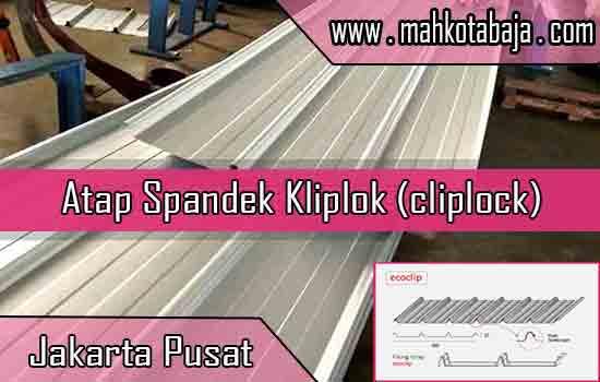 Harga Atap Spandek Kliplok Jakarta Pusat