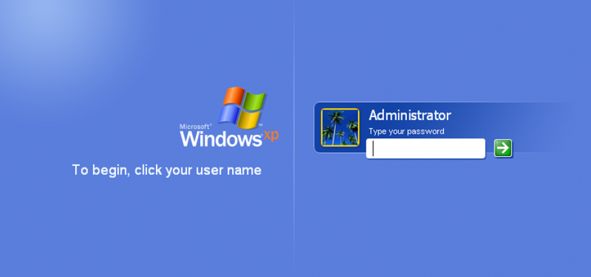 cracking windows login password