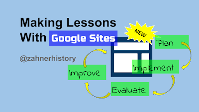 Making Lessons With New Google Sites