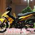Mẫu sơn tem đấu xe Exciter 2010 màu vàng đen cực đẹp