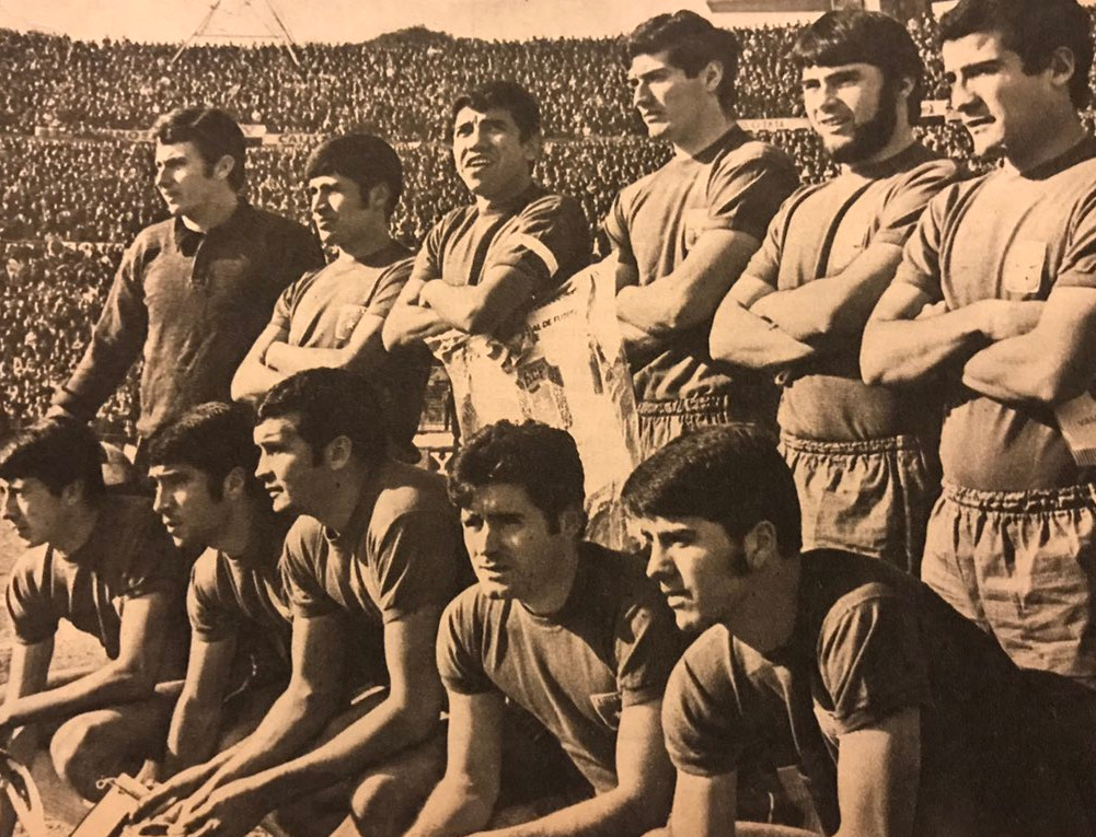 Formación de Chile ante Uruguay, Clasificatorias México 1970, 10 de agosto de 1969