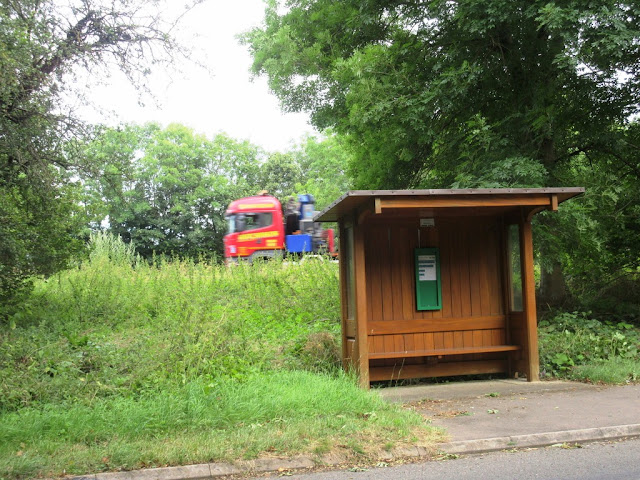 Tickencote bus shelter