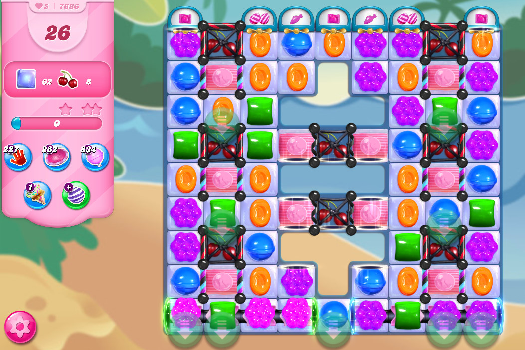 Candy Crush Saga level 7636