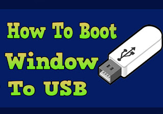 Boot Window To PenDrive