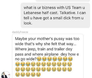 Freeze and a Nigerian lady fight dirty on Instagram
