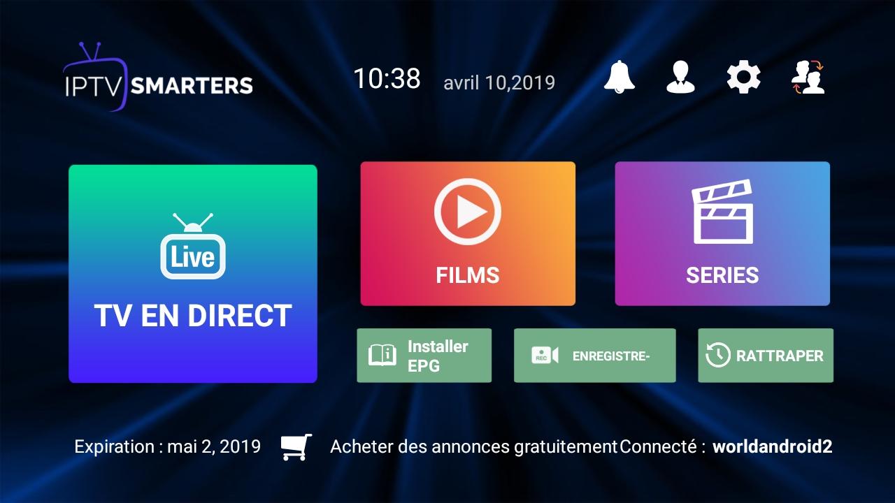 تحميل تطبيق إيبي تيفي سمارت برو  IPTV SMARTERS PRO افضل تطبيق لمشاهدة القنوات