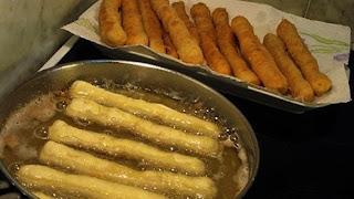 Piroške punjene šunkom i sirom
