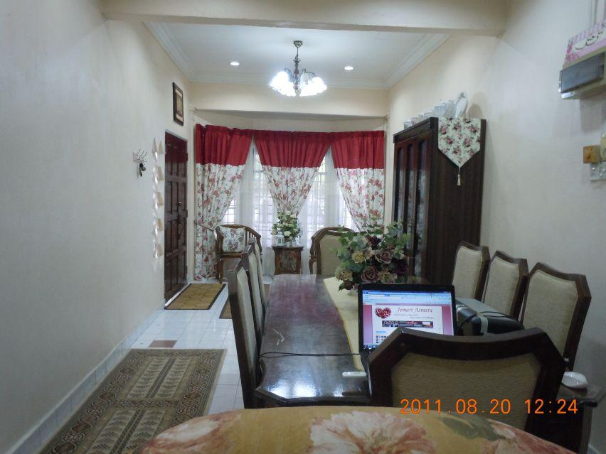Susun Atur Ruang Tamu Rumah Taman Kos Rendah Gambar 08