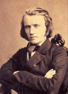 Johannes Brahms in 1853