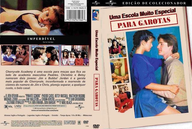 Capa DVD Uma Escola Muito Especial Para Garotas