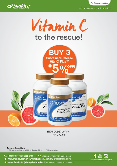 Promosi, Promosi Shaklee October 2018, youth skincare shaklee, zinc complex dah keluar, youth eye treatment, vitamin c shaklee, promosi vitamin c shaklee