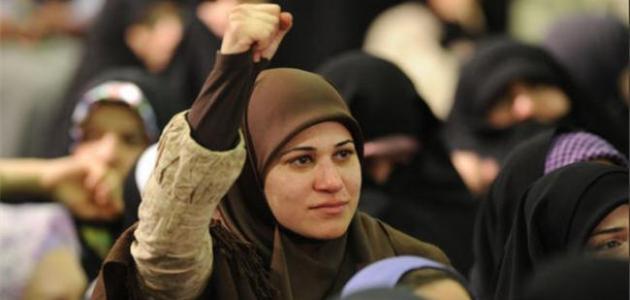 دور المرأة في الحياة السياسية